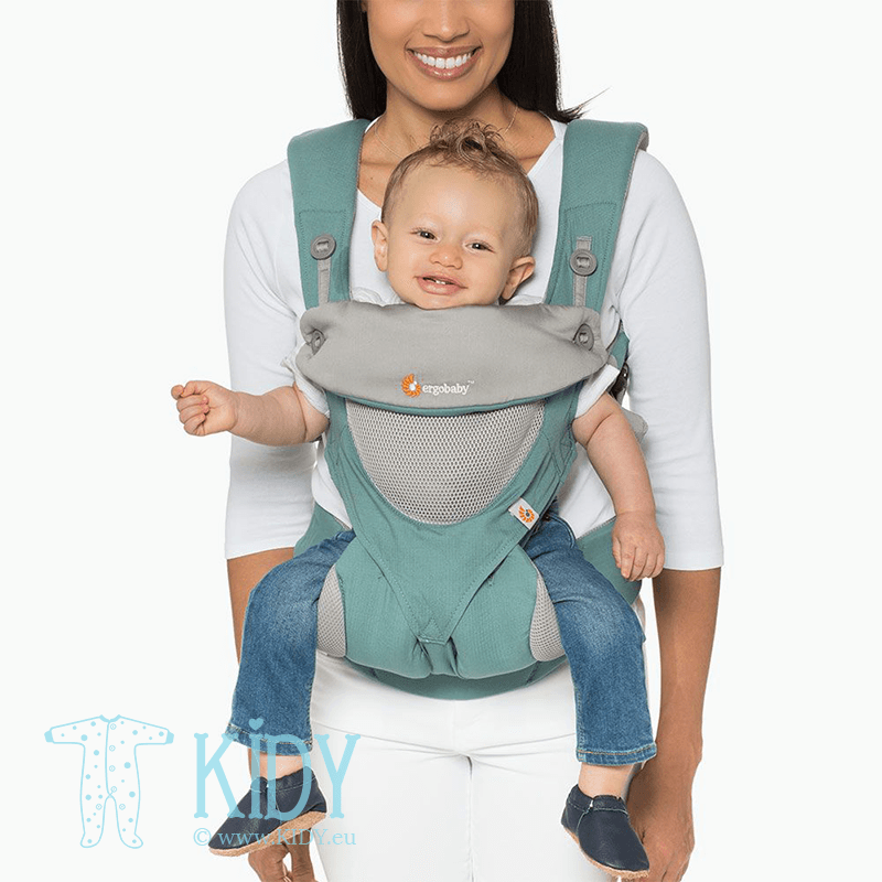 Baby carrier ALL POSITION 360 Cool Air Icy mint (ErgoBaby) 4