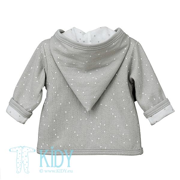 Grey FLUFFY hoodie (Lorita) 4