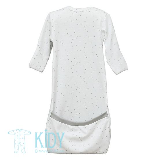White FLUFFY sleeping bag (Lorita) 4