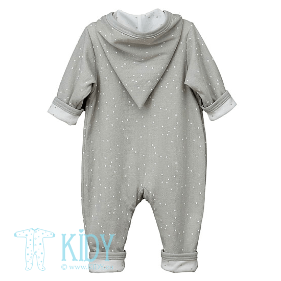 Grey FLUFFY playsuit (Lorita) 4