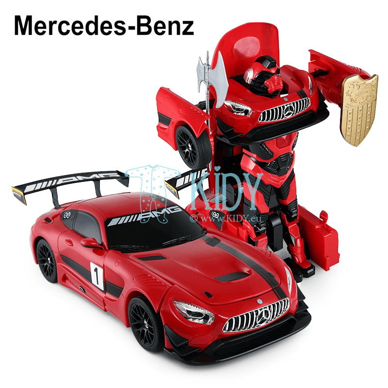 Radio controlled transformable car (RC 1:14 Mercedes-Benz GT3) (RASTAR) 4