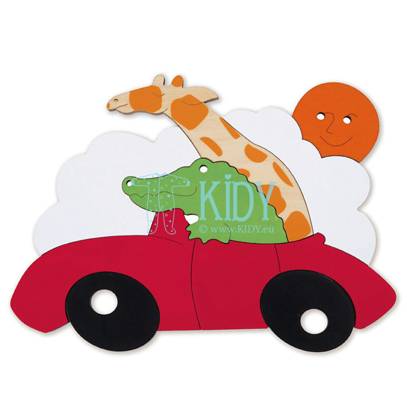 Dėlionė SPORTS CAR (Hape) 4