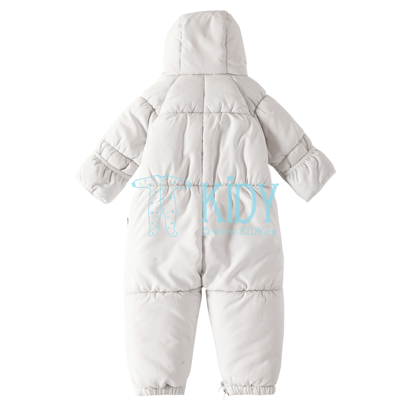 White FOX winter overall transformer with anti-scratch mitts (Lassie by Reima) 4