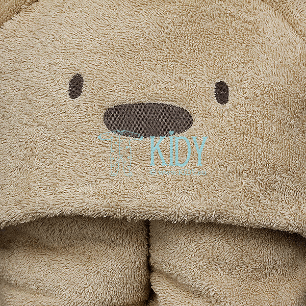 Brown hooded MESKUTIS towel (Lorita) 4