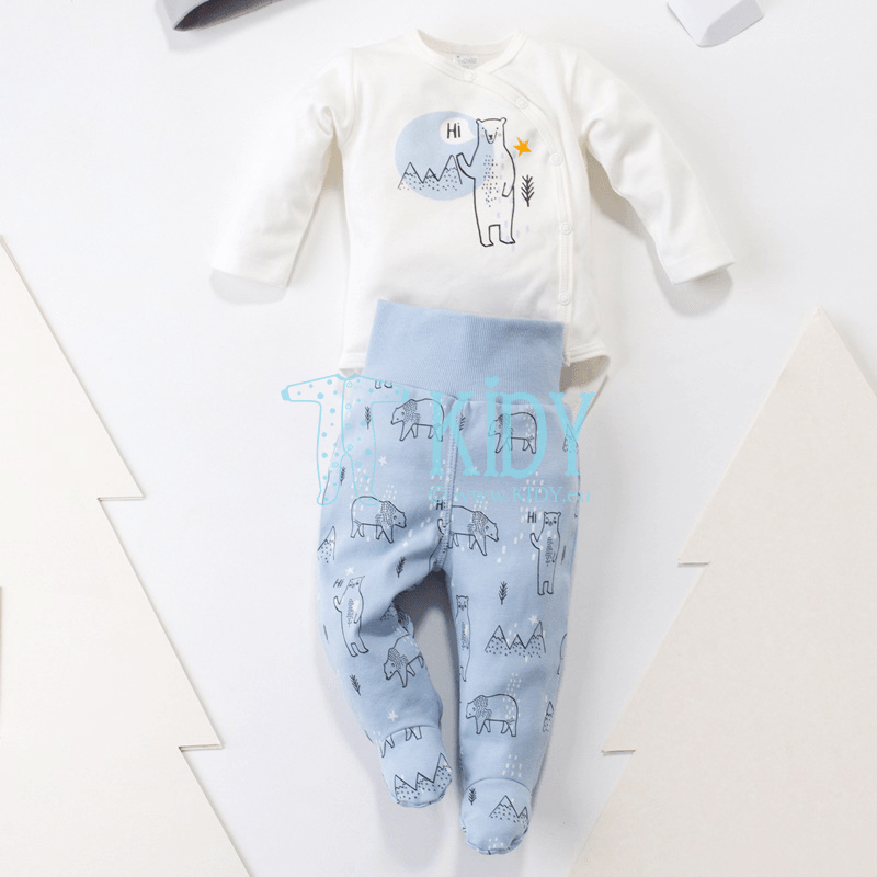 Blue NORTH footed pants (Pinokio) 4