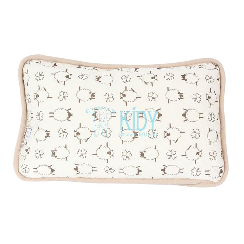 Double-sided MOKA pillow (Flokati) 4