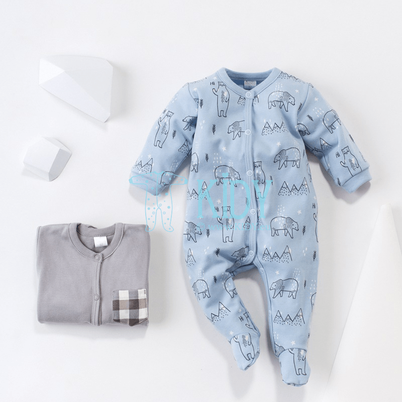 Blue NORTH sleepsuit (Pinokio) 4