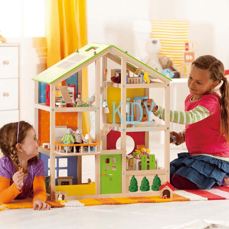 Деревянный игрушечный домик для кукол (Hape) 4