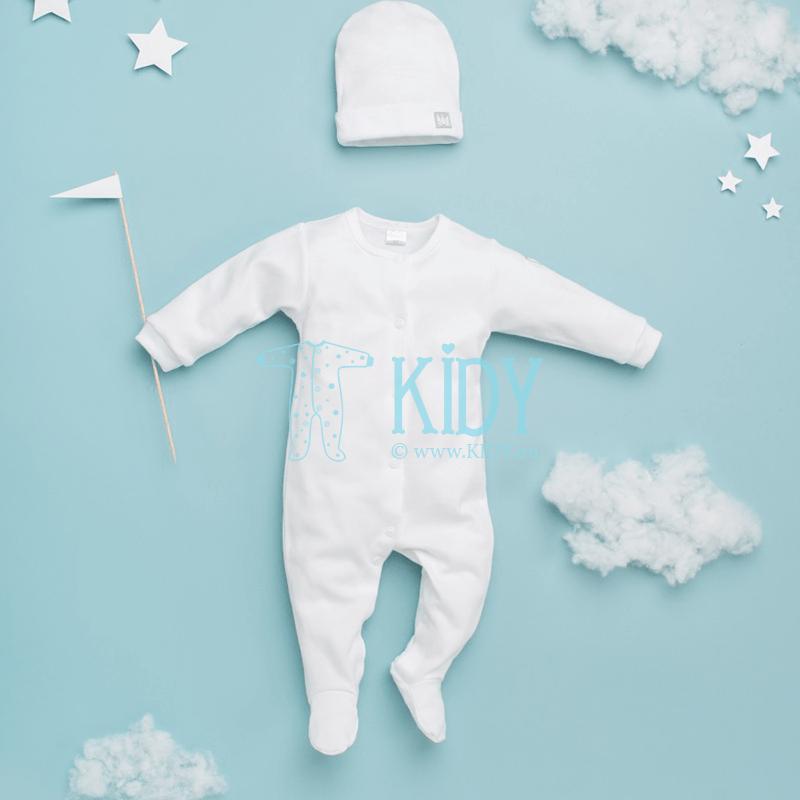 Baltas kombinezonas-pižama WHITE (Pinokio) 4