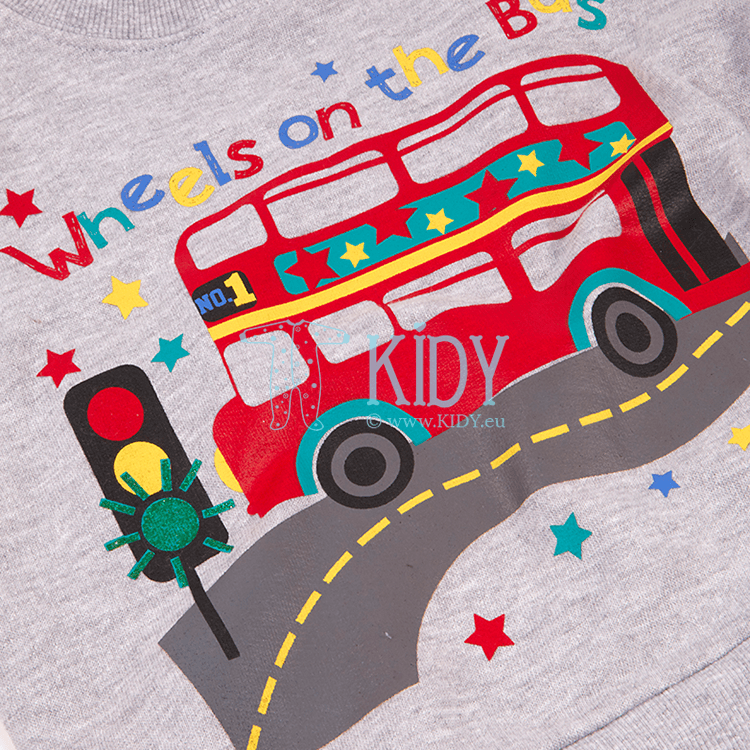 Grey BUS jumper (Baby Town) 4