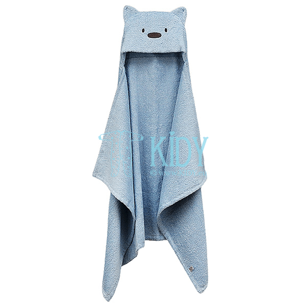 Blue MESKUTIS hooded towel (Lorita) 4
