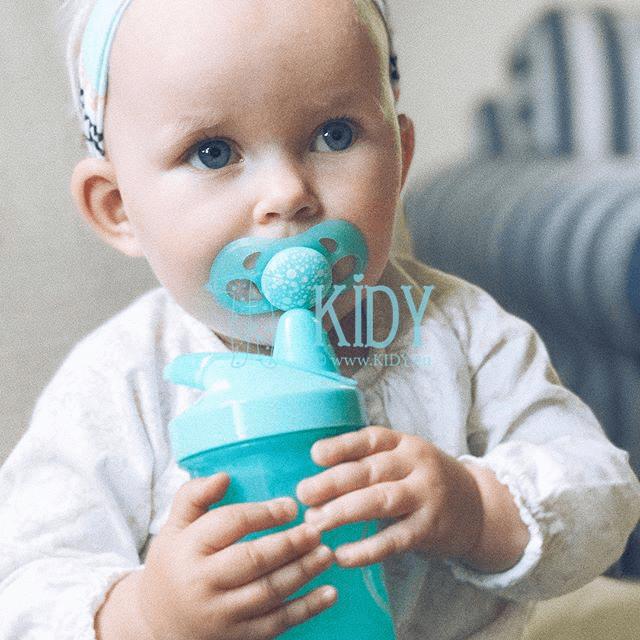 Blue SIPPY CUP CRAWLER (Twistshake) 4