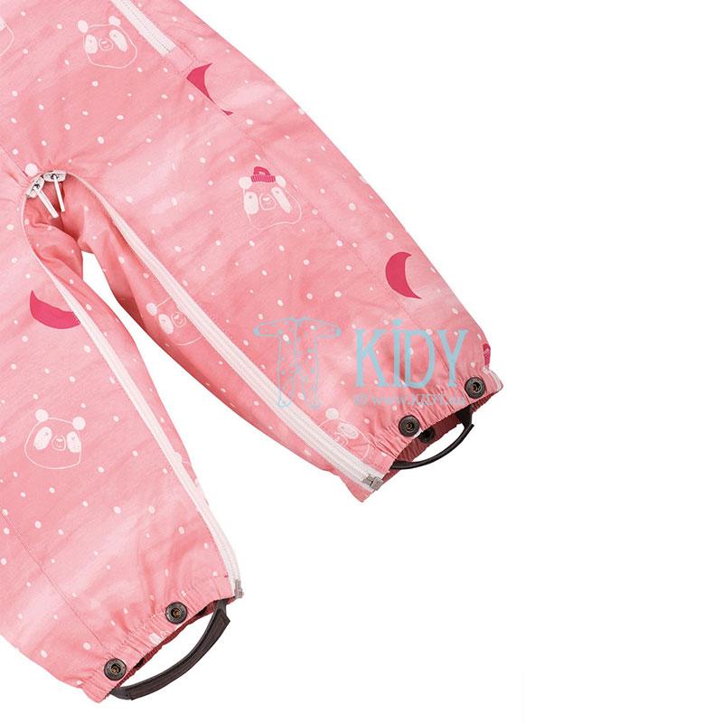 Rožinis žieminis kombinezonas-transformeris STAAVA su pirštinėlėmis (Lassie by Reima) 4