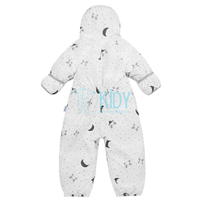 White STAAVA 2 in 1 snowsuit with mitts (Lassie by Reima) 4