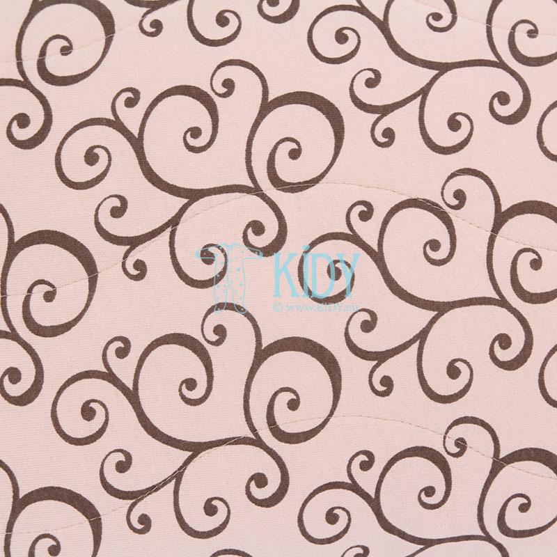 Merino vilnos antklodė KAŠTONAS (Flokati) 4