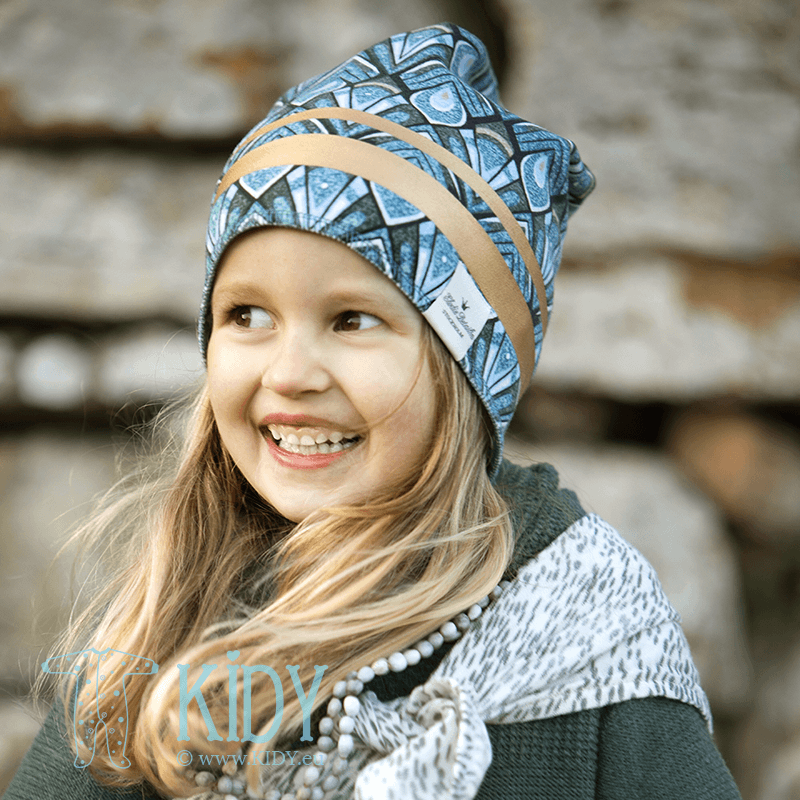Winter GILDED EVEREST FEATHERS beanie (Elodie Details) 4