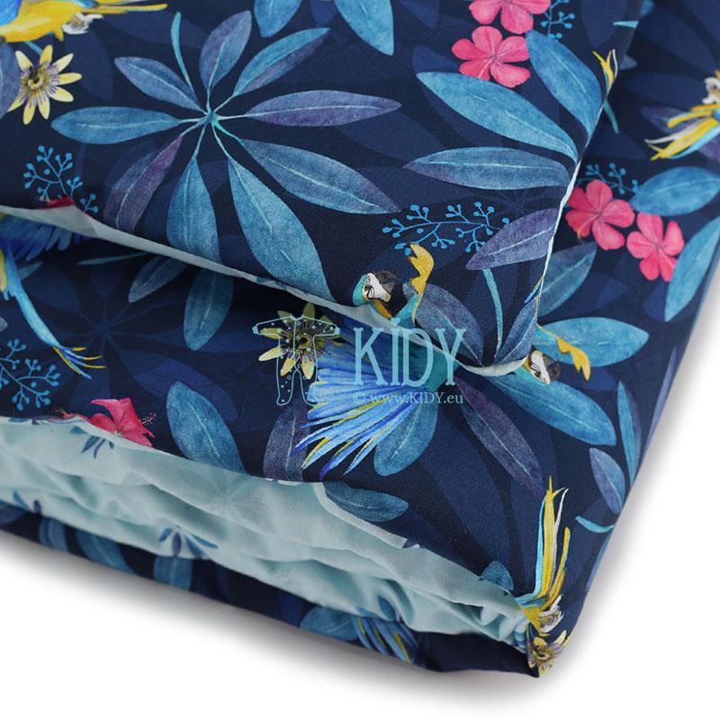 Patalynės komplektas Tropic: antklodė + pagalvė (MAKASZKA) 4