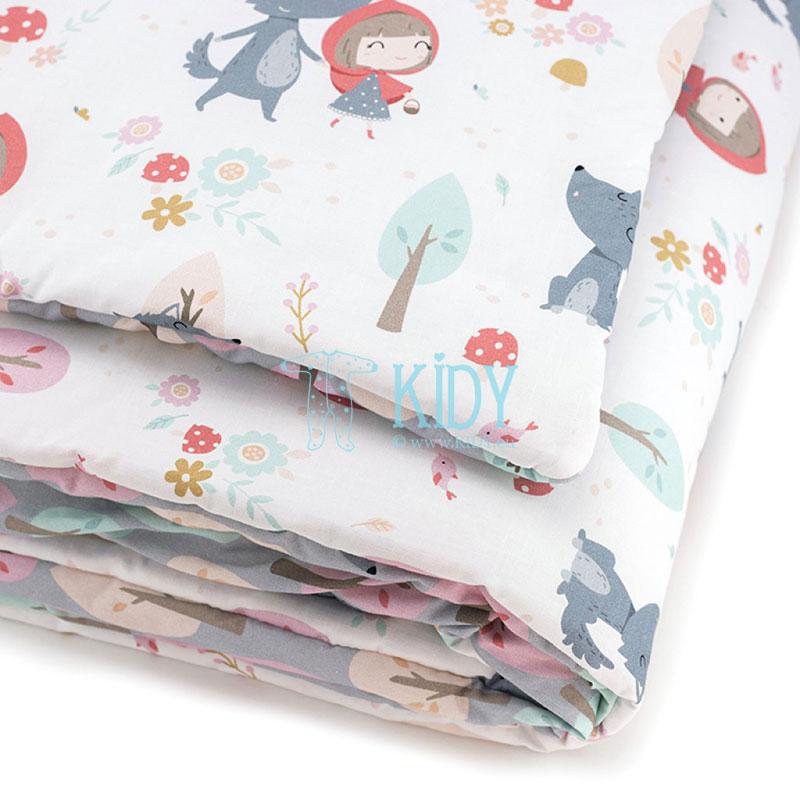 Patalynės komplektas Czerwony Kapturek: antklodė + pagalvė (MAKASZKA) 4