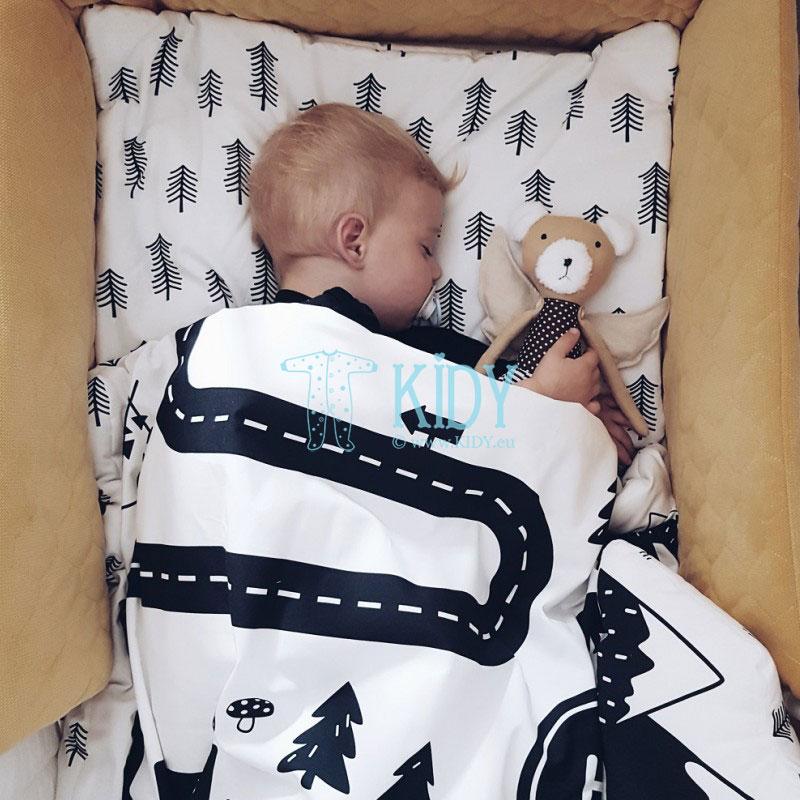 Patalynės komplektas Górska Droga: antklodė + pagalvė (MAKASZKA) 4