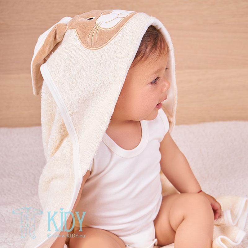 Rankšluostis su gobtuvu RABIT iš ekologiškos medvilnės (BIO Baby) 4