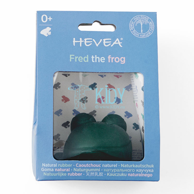 Fred the Green Frog (Hevea Planet) 4