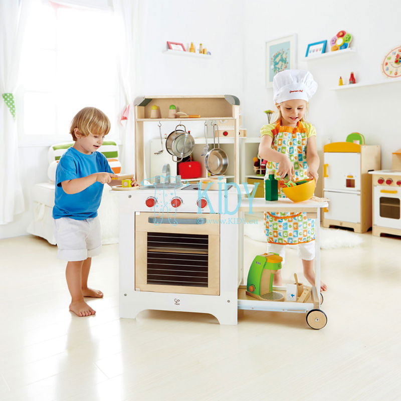 Vaikiška virtuvėlė COOK 'N SERVE KITCHEN (Hape) 4