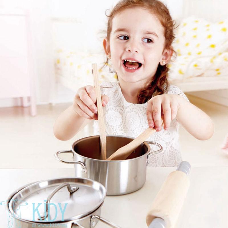 Virtuvės įrankių rinkinys 7 vnt (Hape) 4