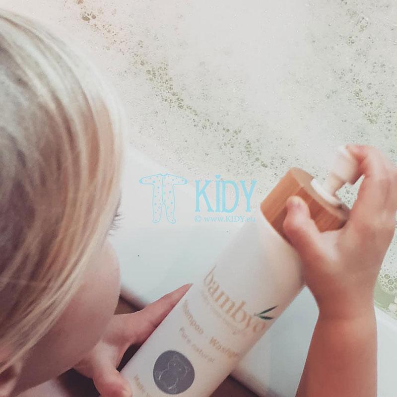 Naturalus šampūnas ir kūno prausiklis Bambyo (Baby Organic Star) 4