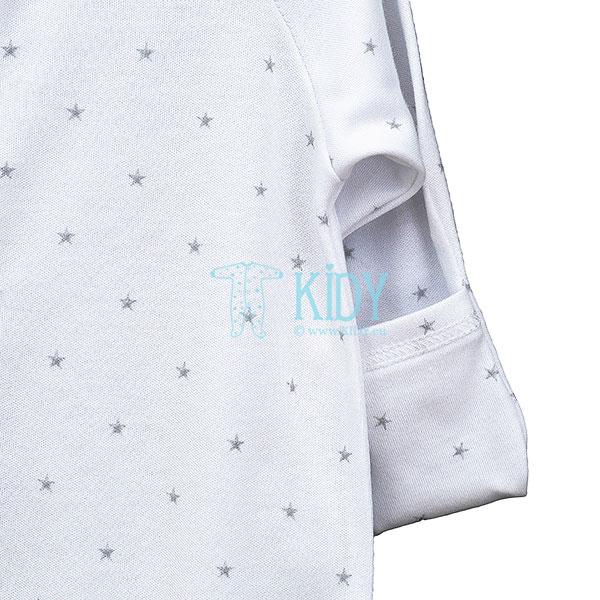 Baltas kombinezonas-pižama SNUBY (Lorita) 4