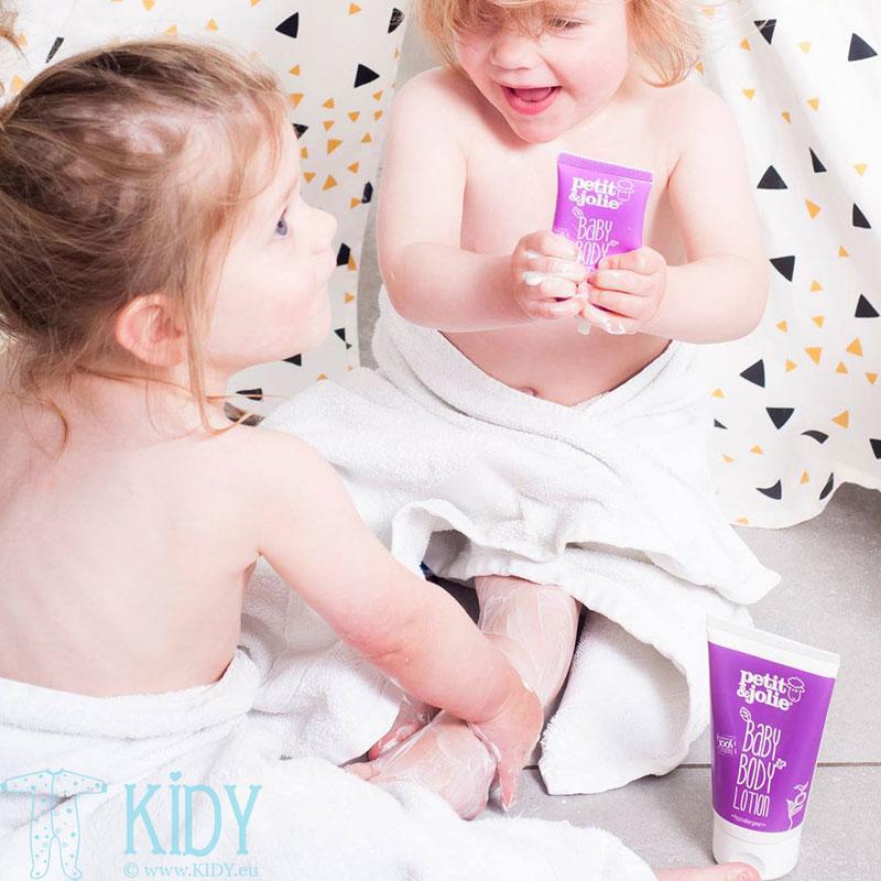 Kūdikių kūno losjonas (Petit & Jolie) 4