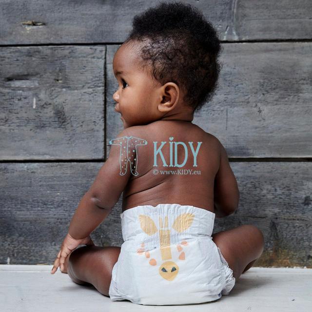 Eko sauskelnės GIRAFFE & GIPPO №3 kūdikiams (Kit & Kin) 4