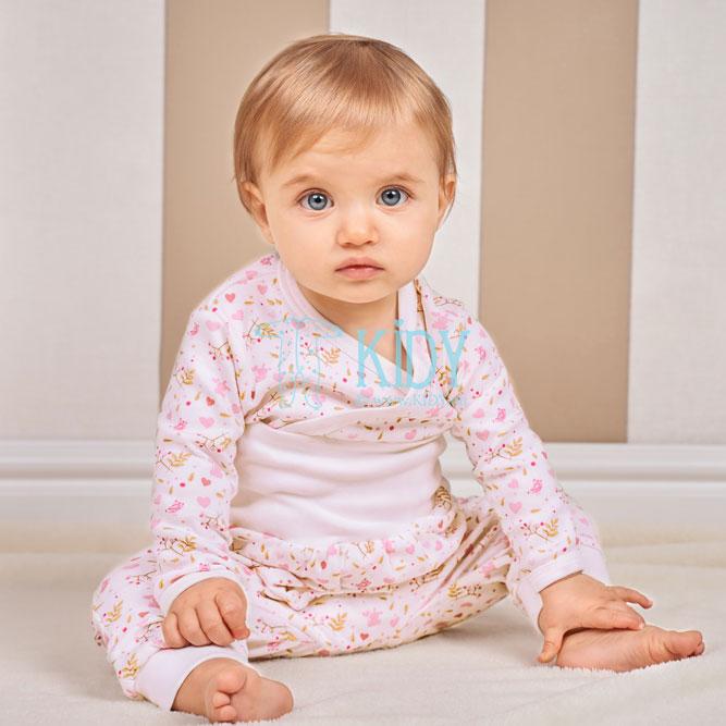 Rožinis susiaučiamas smėlinukas PINK ORGANIC (BIO Baby) 4