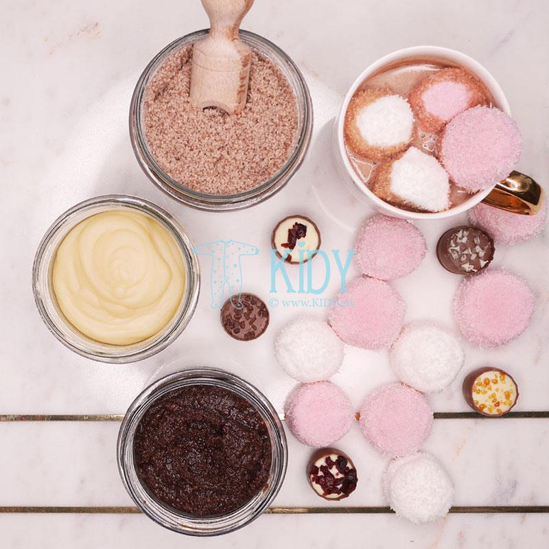 Šokolado vonios druska (Lullalove) 4