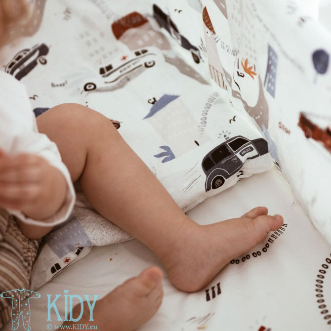 Patalynės komplektas Na Sygnale: antklodė + pagalvė (MAKASZKA) 4
