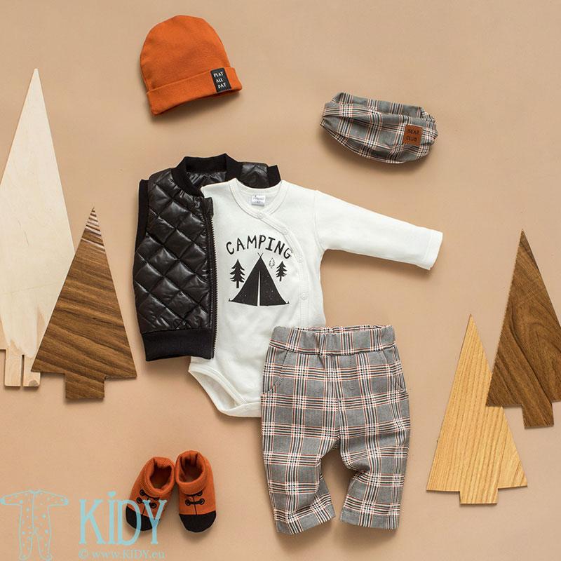 Ecru THE BEARS CLUB wrap bodysuit (Pinokio) 4
