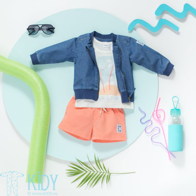 Mėlynas džemperis SUN & FUN (Pinokio) 4