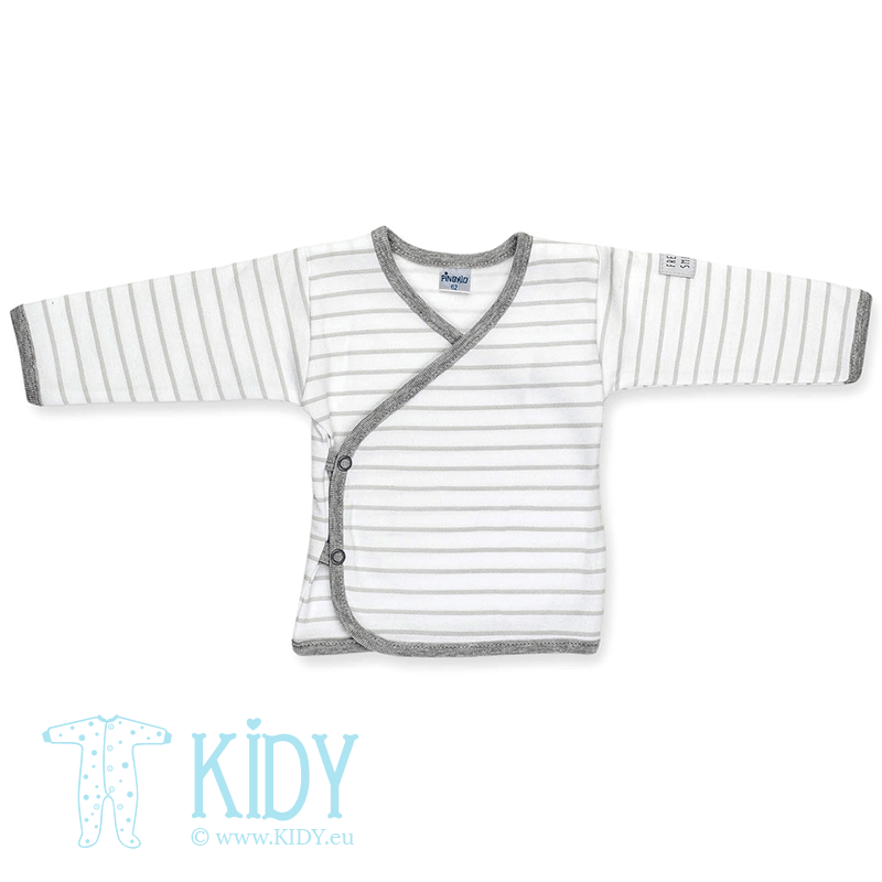 Grey easy shirt HAPPY KIDS