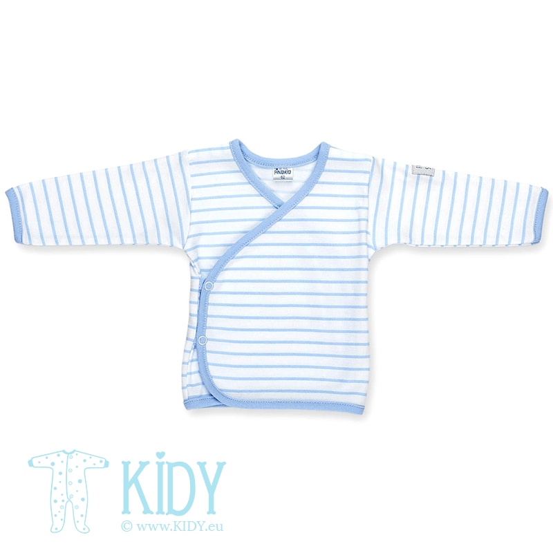 Blue easy shirt HAPPY KIDS