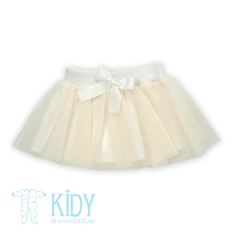 Creamy CELEBRITY skirt