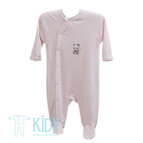 Rožinis kombinezonas-pižama LIEDEKE PANDA