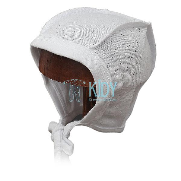 Balta kepurė PLAIN