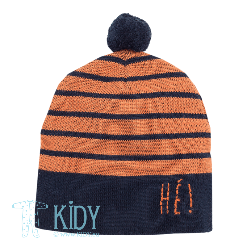 Оранжевая шапка XAVIER