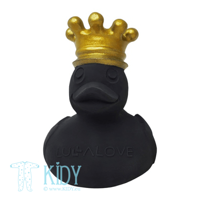 Black bath toy ROYAL DUCK