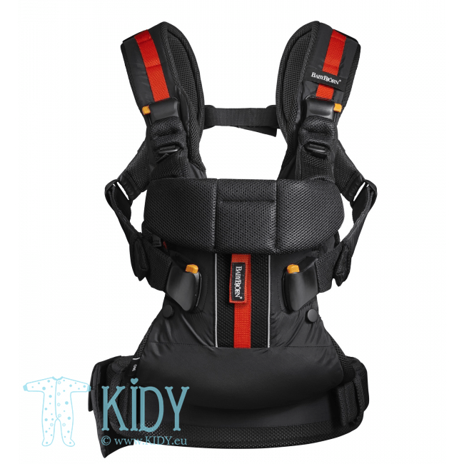 Baby Carrier Outdoors Black