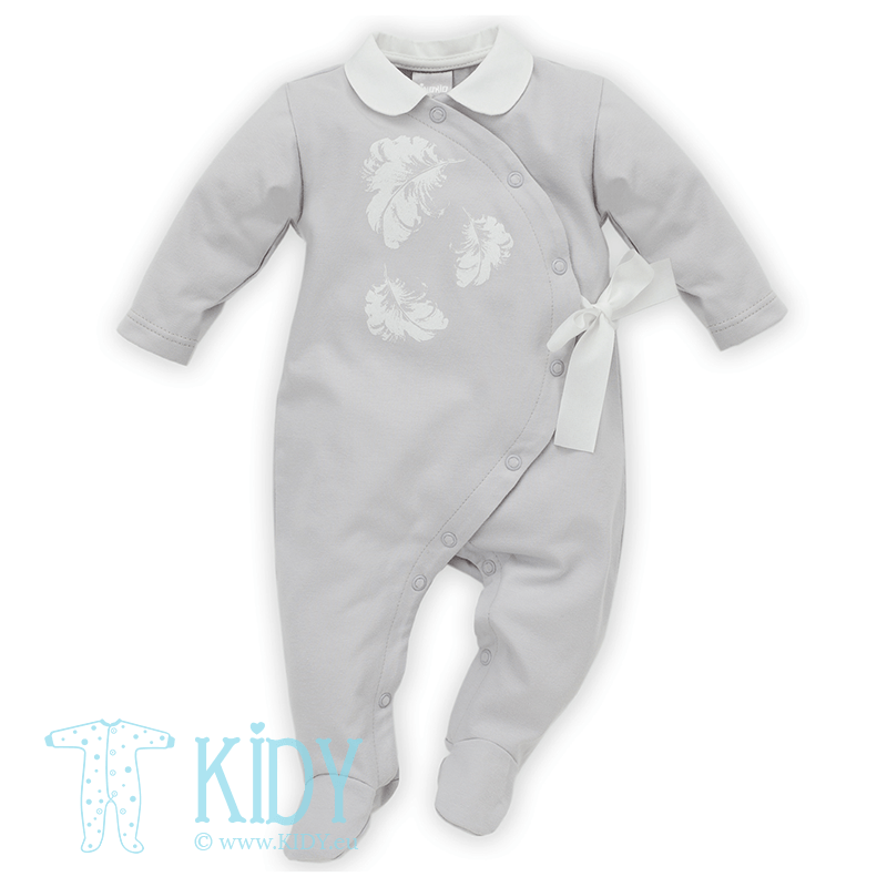 Grey CELEBRITY sleepsuit