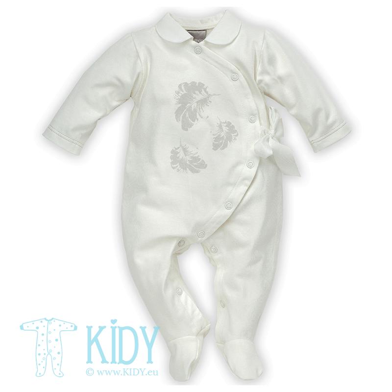 White CELEBRITY sleepsuit