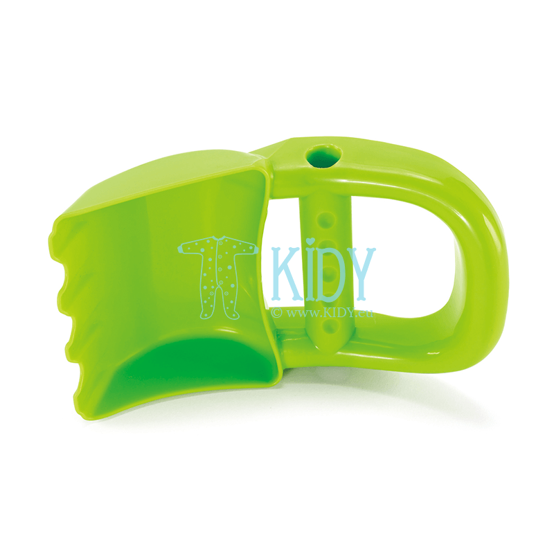 Sand toy green hand digger