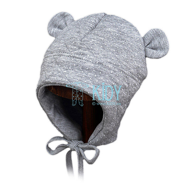Grey MIMI hat for spring/autumn