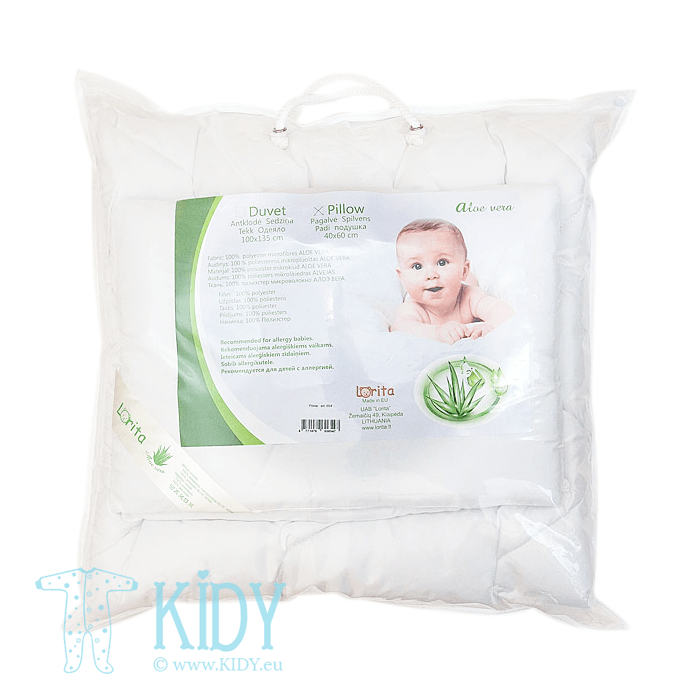 Bedding ALOE VERA set: duvlet + pillow