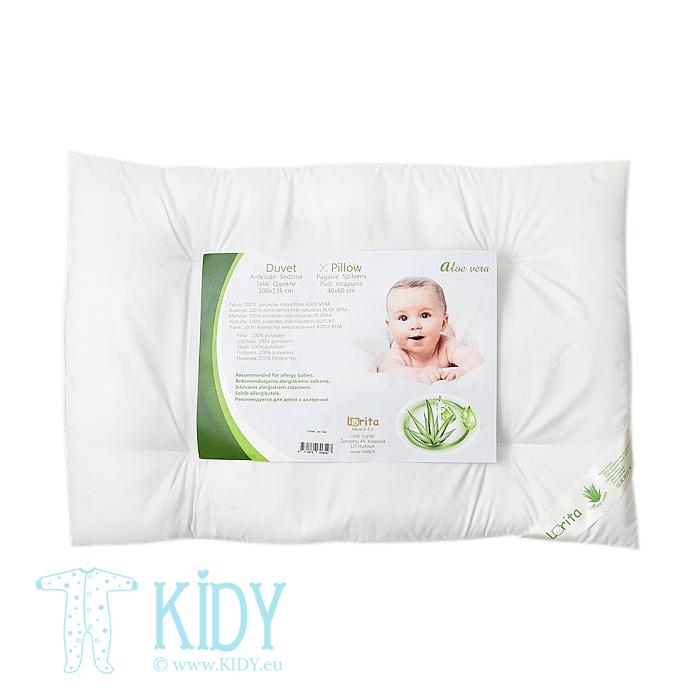 Thin ALOE VERA pillow (Lorita)